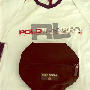 Polo shirt and bag bundle